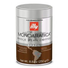 Кофе в зернах ILLY BRAZIL MONOARABICA ж/б, 250г
