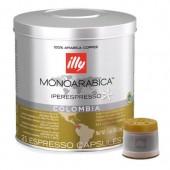 Кофе в капсулах ILLY IPSO MONOARABICA COLOMBIA ж/б, 21*6,7г