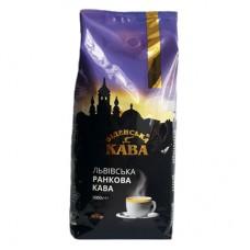 Кофе в зернах Віденська кава Львівська Ранкова Кава, 1 кг