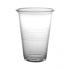 Пластиковые стаканы 200 мл, 100 шт.