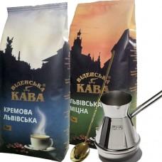 """Набор """"Львовский кофе"""" (в зернах)"""