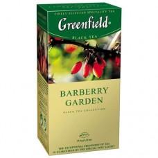Чай пакетированный Barberry Garden ТМ Greenfield 25 шт.