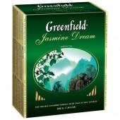 Чай пакетированный Jasmin Dream ТМ Greenfield 100 шт.