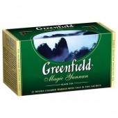 Чай пакетированный Magic Yunnan ТМ Greenfield 25 шт.