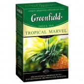 Чай зеленый Tropical Marvel ТМ Greenfield 100 г