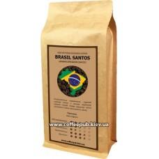 Кофе в зернах CoffeePub Brasil Santos, 1 кг