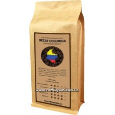 Кофе в зернах CoffeePub Decaf Columbia, 1 кг