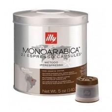 Кофе в капсулах ILLY IPSO MONOARABICA BRAZIL ж/б, 21*6,7г