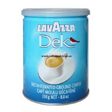 Кофе молотый Lavazza Dek Decaffeinato, 250 г