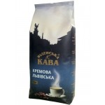Кофе в зернах Віденська кава Львівська Кремова, 1 кг