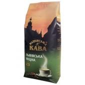 Кофе в зернах Віденська кава Львівська Міцна, 1 кг