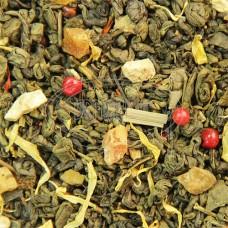 Чай зеленый с имбирем ТМ Османтус 100 г