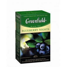 Чай черный Blueberry Nights ТМ Greenfield 100 г