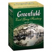 Чай черный Earl Grey Fantasy ТМ Greenfield 100 г