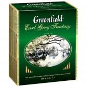 Чай пакетированный Earl Grey Fantasy ТМ Greenfield 100 шт.
