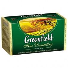 Чай пакетированный Fine Darjeeling ТМ Greenfield 25 шт.