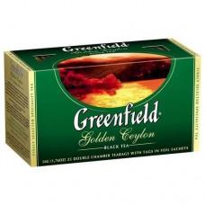 Чай пакетированный Golden Ceylon ТМ Greenfield 25 шт.