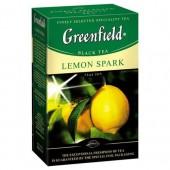 Чай черный Lemon Spark ТМ Greenfield 100 г