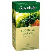 Чай пакетированный Tropical Marvel ТМ Greenfield 25 шт.